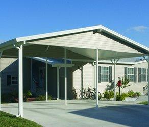 The Villages Carports Metal Carports Florida Products White Aluminum Windows St Lucie